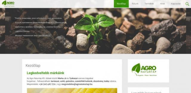 agronaturtap-webshop-cms-fejlesztes