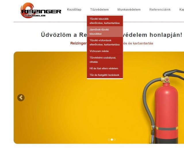 reizinger-menu-weboldal-keszites