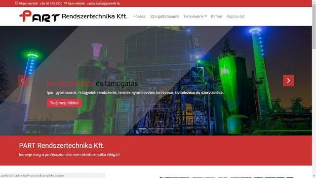 Part Rendszertechnika