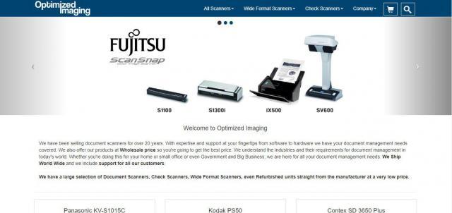 Nemzetközi scanner webshop